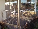 Het beste Systeem van het Traliewerk van de Kabel van de Balustrades van het Roestvrij staal van de Stijl van de Prijs Amerikaanse