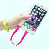 22cm Flat Téléphone mobile des données de facturation Bracelet de câble micro USB