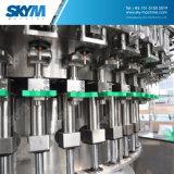 Relleno del agua de botella y cadena de producción de máquina del lacre