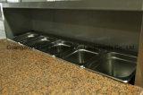 Equipamento de cozinha Geladeira de salada com gabinete-PS900