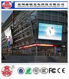 Alto schermo esterno di colore completo del segno della visualizzazione di LED di definizione P8 per la fabbrica locativa diretta