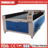 Machine de gravure acrylique de découpage de laser des forces de défense principale 100W en bois de tissus