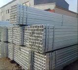Tuyau en acier galvanisé/section creuse tube carré de matériaux de construction