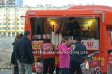 مصغّرة [فندر] طعام شاحنة [إيس كرم] شاحنة لأنّ عمليّة بيع