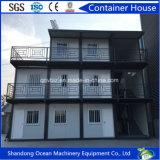 Envase de acero prefabricado ahorro de energía de la oficina del edificio de material de construcción de la estructura de acero para el sitio de la mina