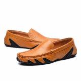 De nouvelles chaussures en cuir de style sans lacets Hommes chaussures occasionnel avec une haute qualité