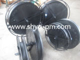 ケーブル巻き枠のドラム