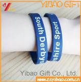 Usine de cadeau de promotion Logo Custm divers prix bon marché Bracelet en silicone avec du silicone Wrisband (YB-HD-60)