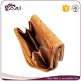 Бумажник оптовых девушок PU способа кожаный миниый