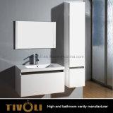 Venda Por Atacado White Small Vanity do banheiro com superfície sólida Top Tivo-0001vh