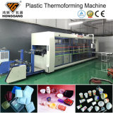 De volledige Automatische Beschikbare Plastic Machine van Thermoforming van de Kop