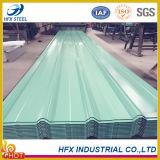 Mattonelle d'acciaio di colore ondulato per il tetto