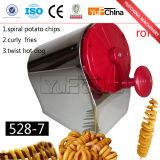 Niedriger Preis-Kartoffelchip-Schneidemaschine