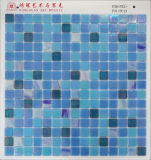 De Blauwe Kleur van het Mozaïek van het Glas van het iridium