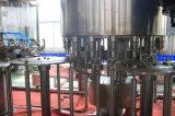 Terminar el agua mineral en botella/la cadena de producción pura del agua