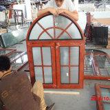 Finestra di vetro usata della feritoia di finestra del portello di alluminio di vetro rotonda