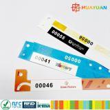 習慣MIFAREの標準的な小型使い捨て可能な混合のプラスチックRFIDリスト・ストラップ