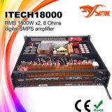 I-Tech8000HDのクラスHDステレオのデュアル・チャネルDJの電力増幅器