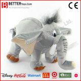 高品質柔らかい動物のプラシ天のおもちゃ象