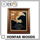 Frame do original do certificado do frame de retrato da madeira contínua