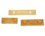 Il pezzo fuso parte il blocchetto della lega di rame, moneta di rame, Copperplate