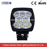 도로 차량 6inch 80W 크리 사람 LED 일 빛 떨어져를 위한 자동차 부속