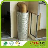 Thermische Isolierung PET Schaumgummi mit Alu Folien-Baumaterial