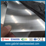 Hoja de metal aplicada con brocha del acero inoxidable de 304 10 GA