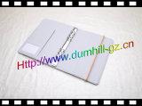 China PU-Tagebuch-Faltblatt mit elastisches Band-Schliessen Doument Faltblatt
