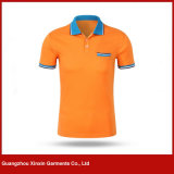 ゴルフスポーツのTシャツの摩耗(P114)のための方法デザイン衣服