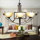Moderne 4p 6p hängende Leuchter-Lampen-heißer Verkauf der Europa-Art-