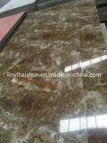 PVC artificielle/UV Feuille de pierre de marbre panneau mural pour la décoration