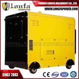 7kw générateur portatif à moteur diesel insonorisé de 7000 watts (début électrique)