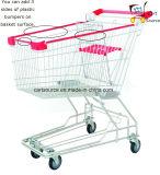 150L asiatischen Stil Supermarkt Lebensmittelgeschäft Trolley Cart