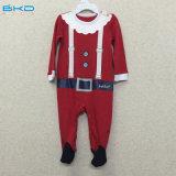 Bébé de couleur rouge s'usant le long bébé Playsuit de chemise