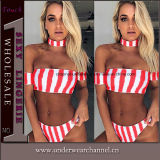 Moda Atacado OEM Stock Women Sexy Bathing Suit Beach Bikini (TONY0335)