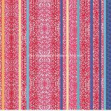 100%Polyester 패턴 지구 Pigment&Disperse는 침구 세트를 위한 직물을 인쇄했다
