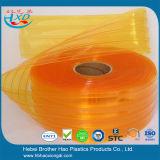 De sterke Insecten controleren het Gele Dubbele Geribbelde 4mm VinylGordijn van de Strook