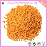 Oranje Masterbatch van uitstekende kwaliteit voor Injectie