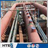 La presión accesoria de la caldera de vapor parte la cabecera de la caldera