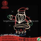 Decoratieve Licht van het Motief van de Kabel van de Kerstman van de Decoratie van de nieuwe LEIDENE Tuin van Kerstmis het Lichte