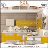 Da mobília moderna da HOME do estilo de N&L mobília de madeira da cozinha
