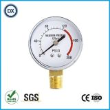Gaz ou liquide de pression d'indicateur de la pression 001 normale