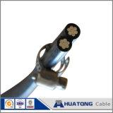 Двусторонняя печать, триплексный, Quadruplex AAC/ACSR/AAAC службы кабеля