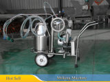 Machine de traite mobile à godets (machine à traire des pistons à aspiration)