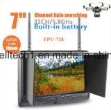 Construido en batería, 32 monitor de la pulgada TFT LCD del receptor 7 del CH sistema de pesos americano