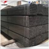 Ms de acero negro Square Tube Hollow Section para la estructura de acero, construcción, marco de acero