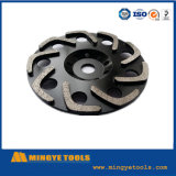 Roue New Type Diamond Cup pour Grinding Stone