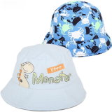 La broderie faite sur commande recouvre le chapeau promotionnel d'enfants de broderie de chapeau de Snapback de chapeau de chapeaux de coton de Burshed