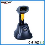 Lecteur sans fil de scanner de code barres de laser avec le chargeur de base, la distance de transmission de 400m et jusqu'à 400, mémoire de 000 codes, Mj2870